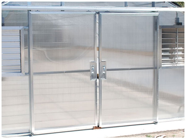 Double Hung Doors Polycarbonate Panels Rimol Greenhouses